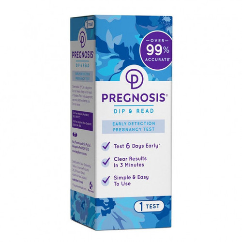 Pregnosis Dip & Read Early Detection Pregnancy Test 1 Pack
