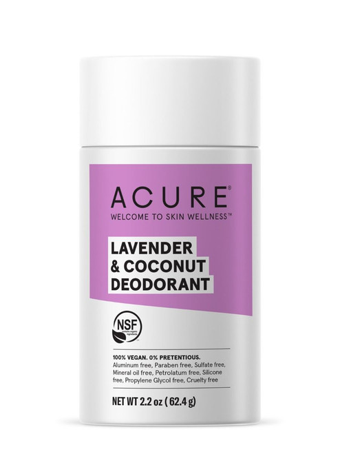 Acure Lavender & Coconut Deoderant 64g