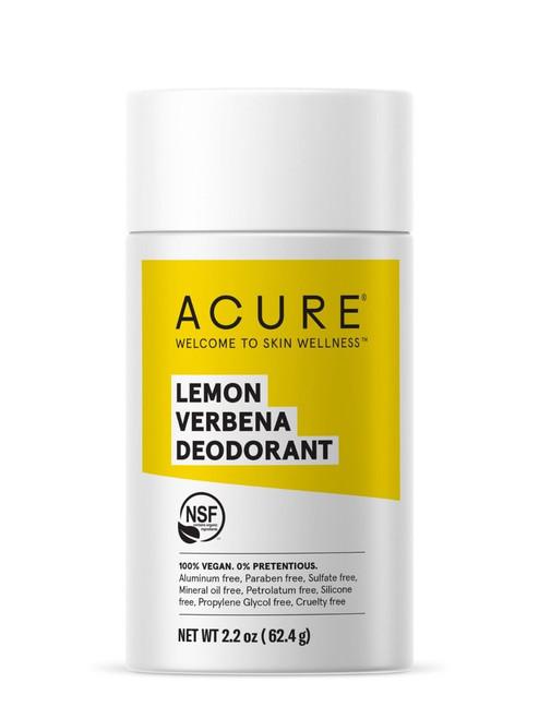 Acure Lemon Verbena Deoderant 64g