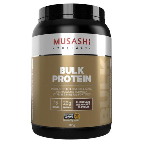 Bulk Protein Chocolate Milkshake 900g Front of Packaging