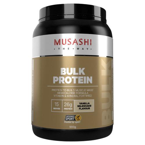 Bulk Protein Vanilla Milkshake 900g Front of Packaging