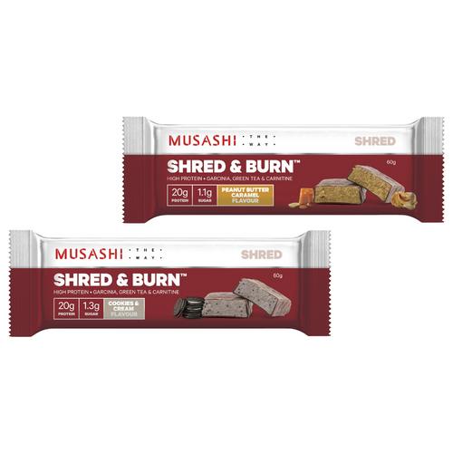 Shred & Burn Bar 60g