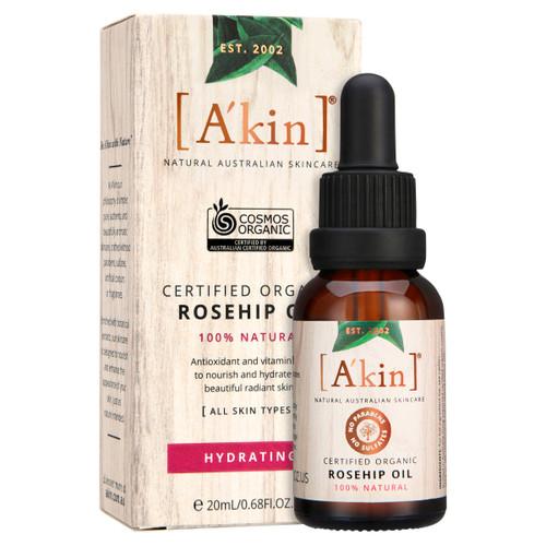 A'kin Certified Organic Rosehip Oil