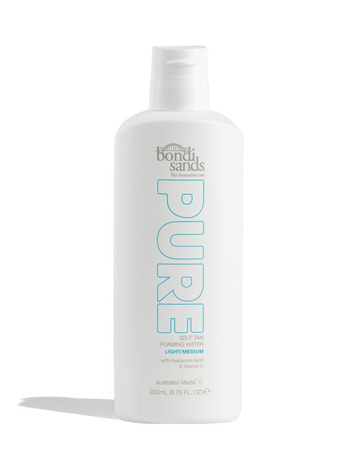 Bondi Sands Pure Self Tan Foaming Water light/medium bottle