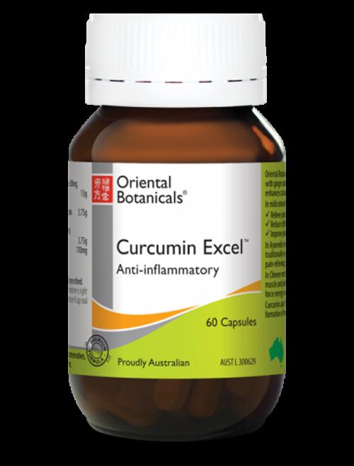 Oriental Botanicals Curcumin Excel 60 Tablets