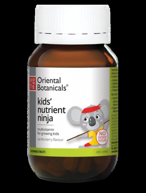Oriental Botanicals Kids' Nutrient Ninja 50 Tablets