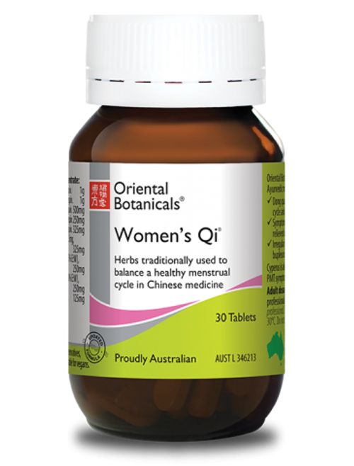 Oriental Botanicals Womens Qi 30 Tablets