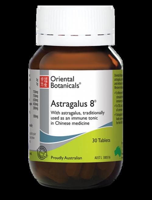 Oriental Botanicals Astragalus 8 30 Tablets