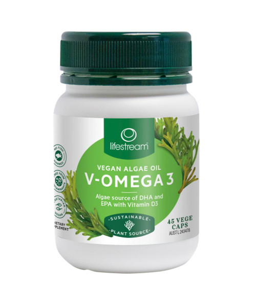 Lifestream Vegan Omega 3 45 Capsules