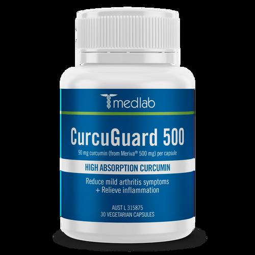 Medlab CurcuGuard 500 30 Capsules