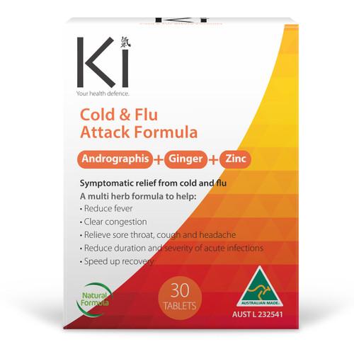 Ki Health Defence Cold & Flu 30 Tablets