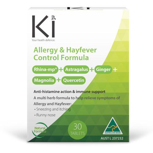 Ki Health Defence Hayfever Control Formula Tablets