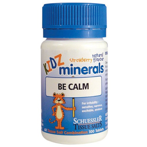 Martin & Pleasance KIDZ Minerals Be Calm 100 Tablets