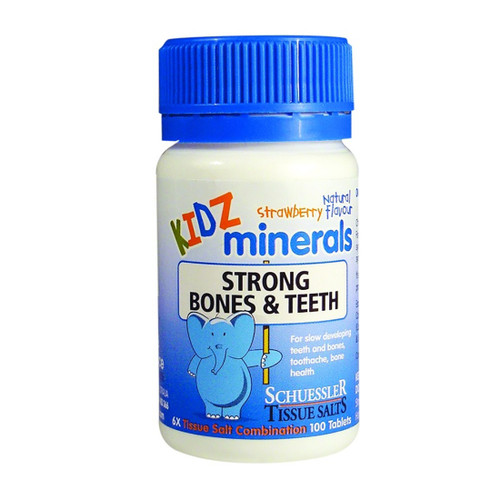 Martin & Pleasance KIDZ Strong Bones & Teeth 100 Tablets