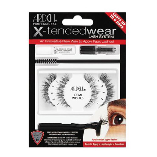 Ardell X-Tended Wear Complete Kit - Demi Wispies