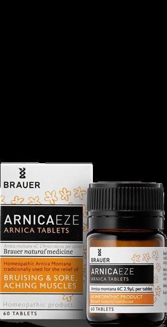 Brauer ArnicaEze Arnica Tablets 60 Tablets