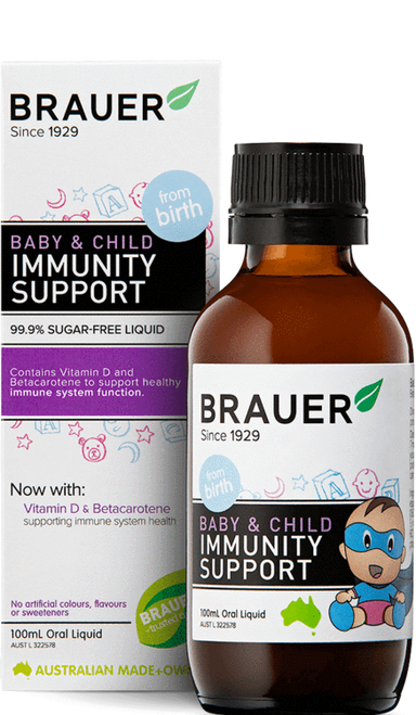 Brauer Baby & Child Immunity Support Oral Liquid 100ml