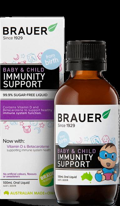 Brauer Baby & Child Immunity Support Oral Liquid 100ml