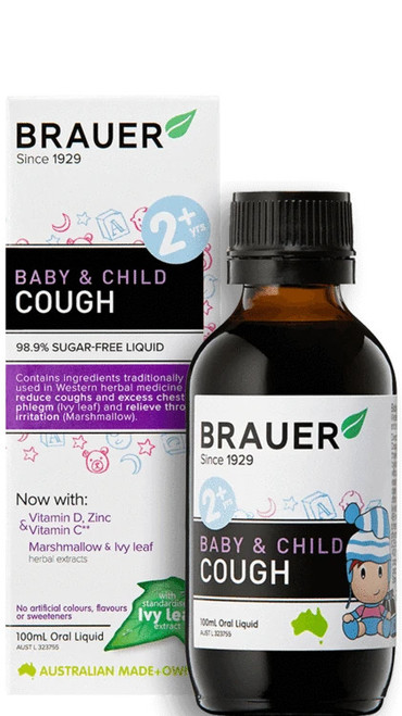 Brauer Baby & Child Cough Oral Liquid 100ml