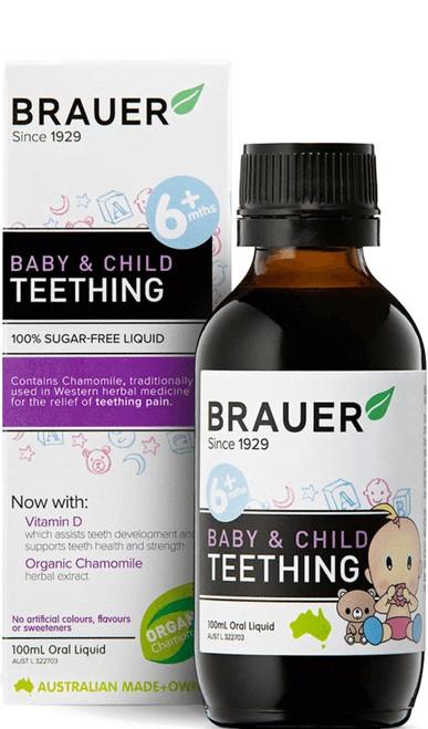 Brauer Baby & Child Teething Oral Liquid 100ml