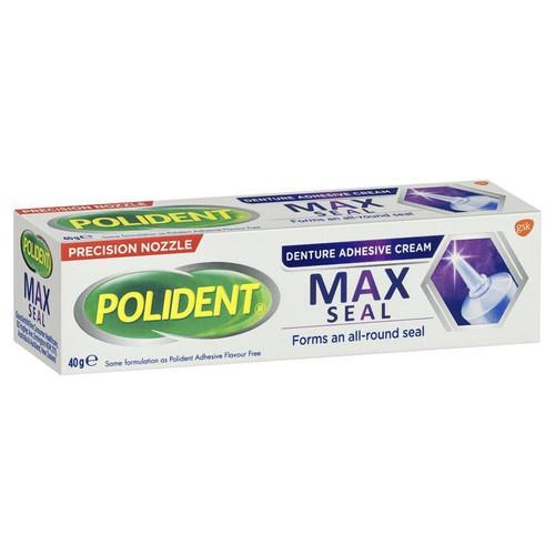 Polident MAX Seal Denture Adhesive