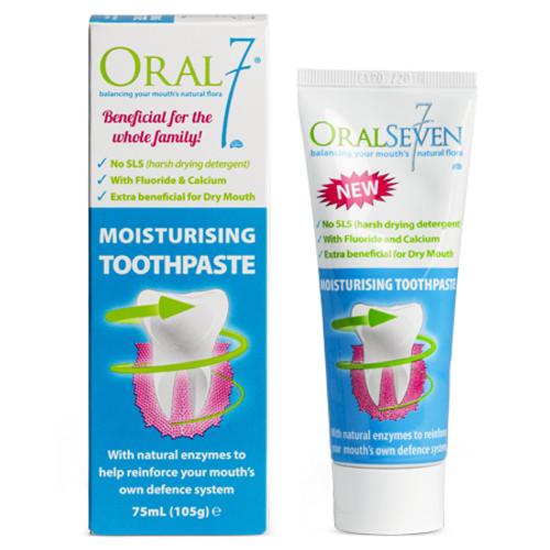 Oral 7 Moisturising Toothpaste 75ml