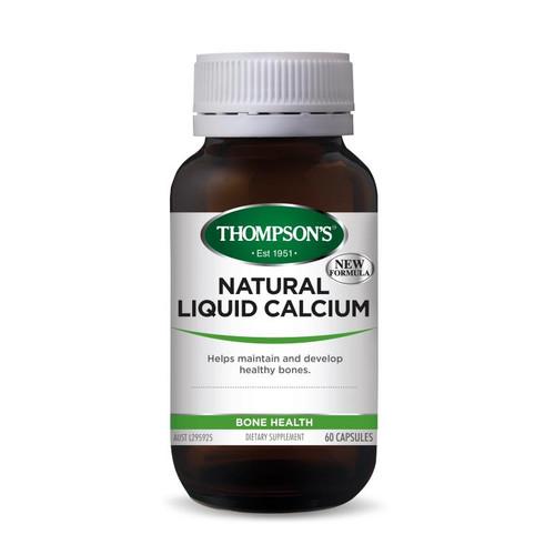 Thompsons Natural Liquid Calcium