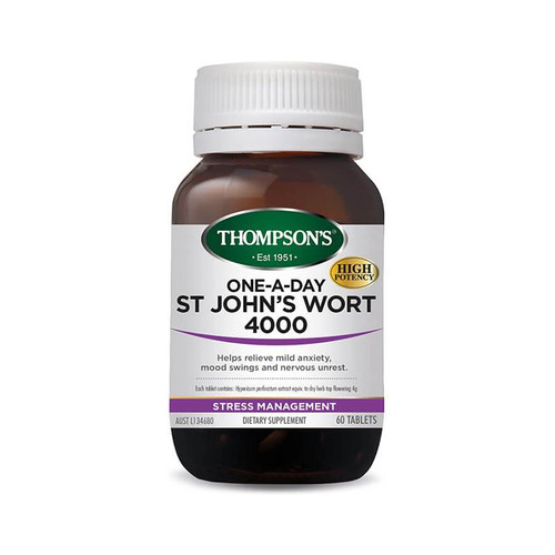 Thompsons One-A-Day St Johns Wort 4000