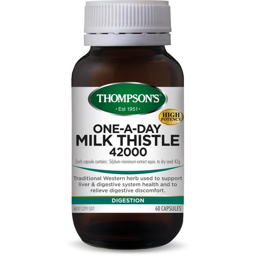 Thompsons One-A-Day Milk Thistle 42000