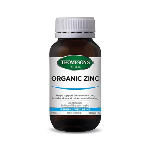 Thompsons Organic Zinc