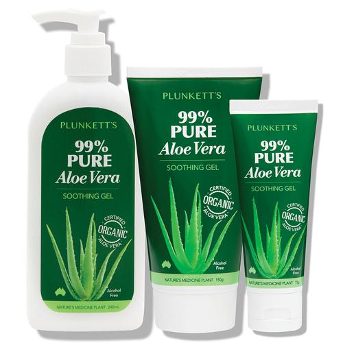Plunkett's 99% Pure Aloe Vera Soothing Gel