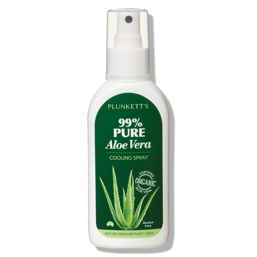 Plunkett's 99% Pure Aloe Vera Cooling Spray 125mL