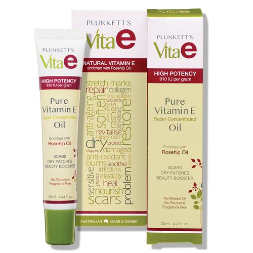 Plunkett's Vita E Pure Vitamin E Oil 25mL Tube