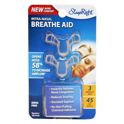 SleepRight Intra-Nasal Breathe Aid 3 Pack