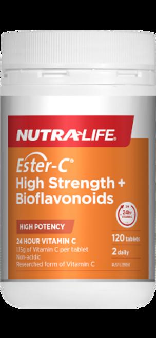 Nutra-Life Ester-C High Strength + Bioflavonoids