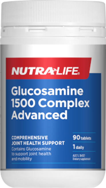 Nutra-Life Glucosamine 1500 Complex Advanced