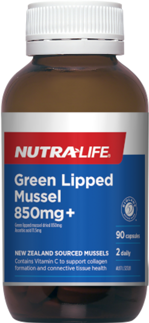 Nutra-Life Green Lipped Mussel 850mg+
