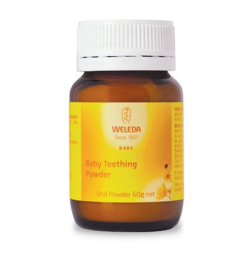 Weleda Baby Teething Powder Oral Powder 60g
