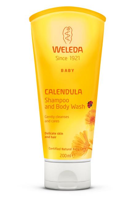 Weleda Calendula Shampoo and Body Wash 200ml