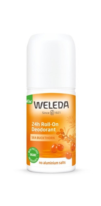 Weleda Sea Buckthorn 24h Roll-On Deodorant 50ml