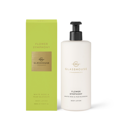 Flower Symphony Body Lotion White Rose & Pear Blossom 400ml