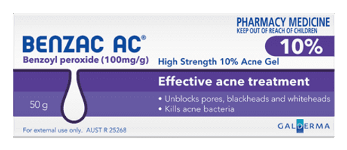 Benzac AC High Strength 10% Acne Gel 60g