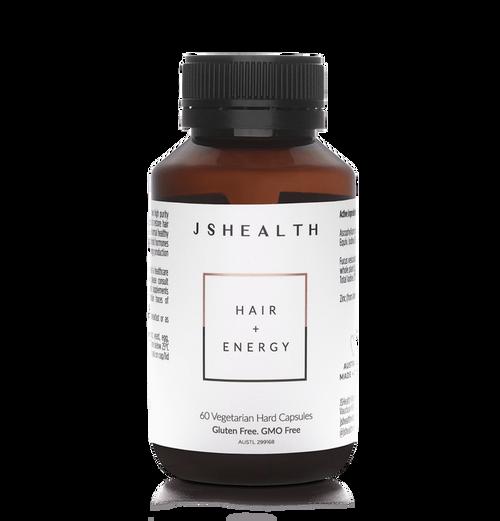 JS Health Hair + Energy 60 Capsules