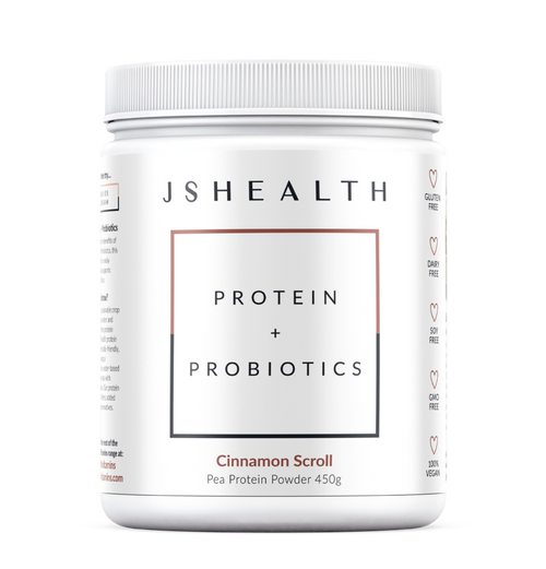 JS Health Protein + Probiotics Cinnamon Scroll 450g