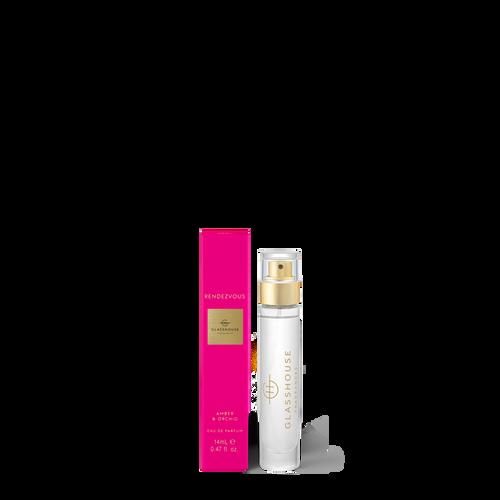 Glasshouse Fragrances Rendezvous Eau De Parfum Amber & Orchid 14ml