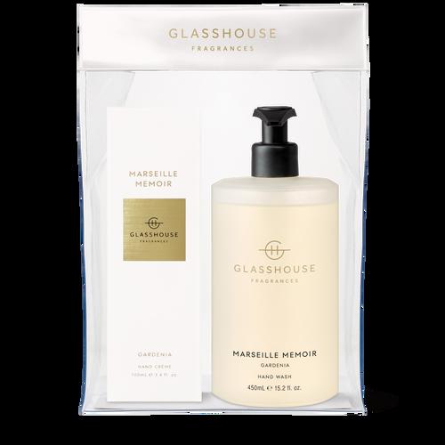 Glasshouse Fragrances Marseille Memoir Hand Duo Set Gardenia