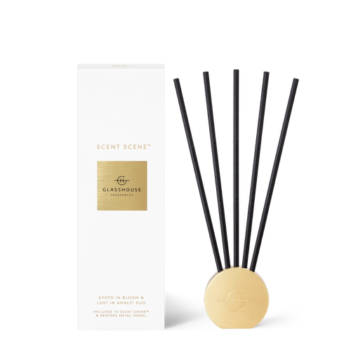 Glasshouse Fragrances Scent Scene Kyoto In Bloom & Lost In Amalfi Duo