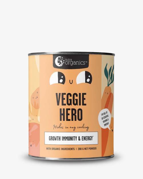Nutra Organics Superfoods For Kids Veggie Hero 200g