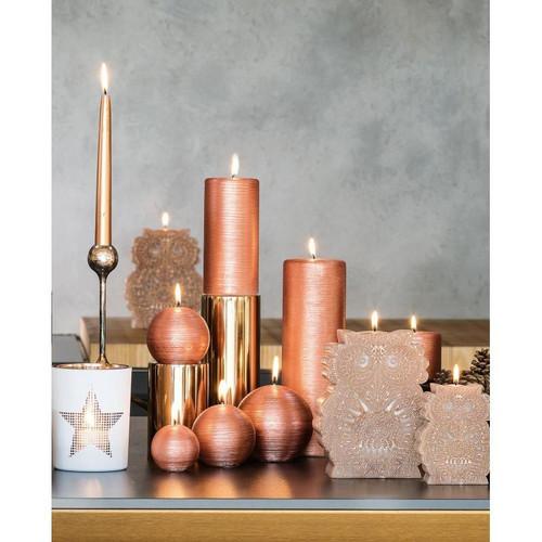 Domaine Lumiere Copper Pillar Candle
