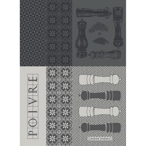 Domaine Lumiere Garnier-Thiebaut Poivrieres Noir Tea Towel
